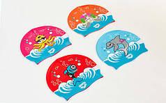 Шапочка для плавания детская ARENA AWT MULTI AR-91925-20 (силикон, цвета в ассортименте)