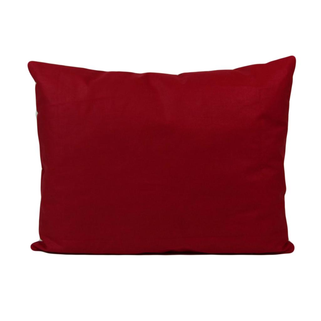 Наволочка, 45*35 см, (бавовна), (червоний)