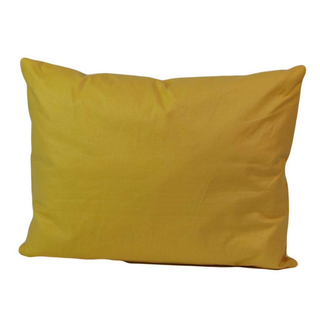 Наволочка, 45*35 см, (бавовна), (бананово-жовтий)