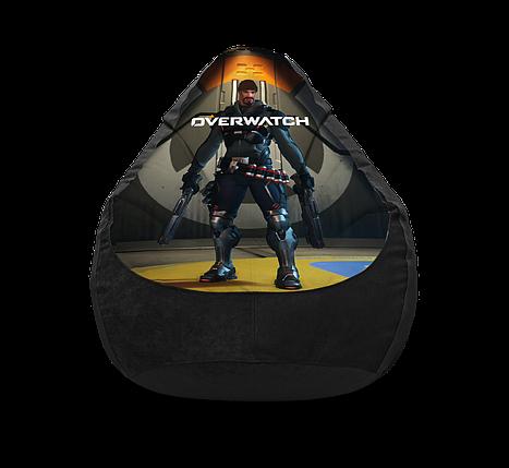 """Кресло мешок """"Overwatch. Baptiste"""" Флок, фото 2"""