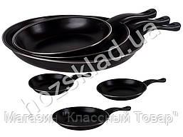 Набор сковородок Stenson алюм. с антипригарным покрытием D20/26/30см (цена за набор 3шт)
