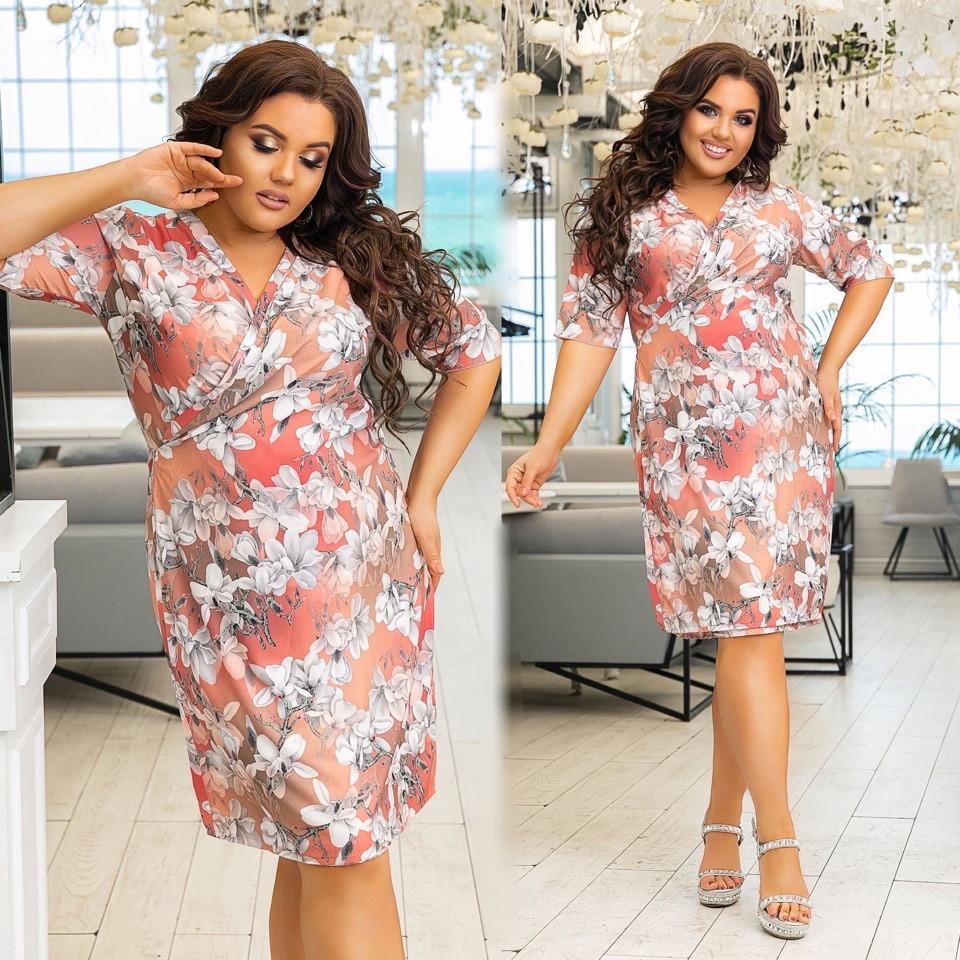 Платье женское 715юр батал