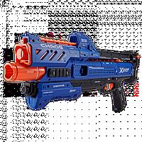 Скорострельный бластер стреляющий шариками X-Shot Excel Chaos Orbit Zuru, синий