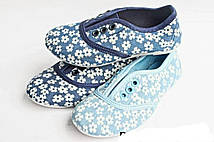 Детские мокасины на шнурках для девочек