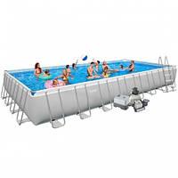 Каркасный бассейн Bestway 56466 размер 549х274х122 с песочным фильтром