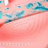 Crocs Детские Крокс шлепки вьетнамки тропики Kadee II Seasonal Flip W 205635 Tropical/Melon, фото 5