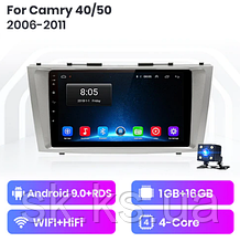 Junsun 4G Android магнітола для Toyota Camry 40 50 2006 - 2011 wifi