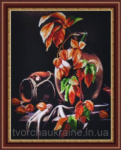 """Набор для вышивки бисером """"Осенний натюрморт""""."""