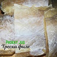 Треска филе солено-сушеная, закуска к пиву(рыбный снек), фасовка по 1 кг