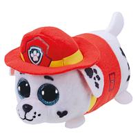 Детская мягкая игрушка собачка Маршал Teeny Ty's 10 см TY, белый