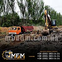 Планировка территории, вывоз строительного мусора.