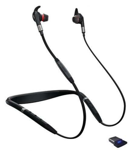 Музыкальная беспроводная Bluetooth гарнитура с шумоподавлением Jabra Evolve 75e MS