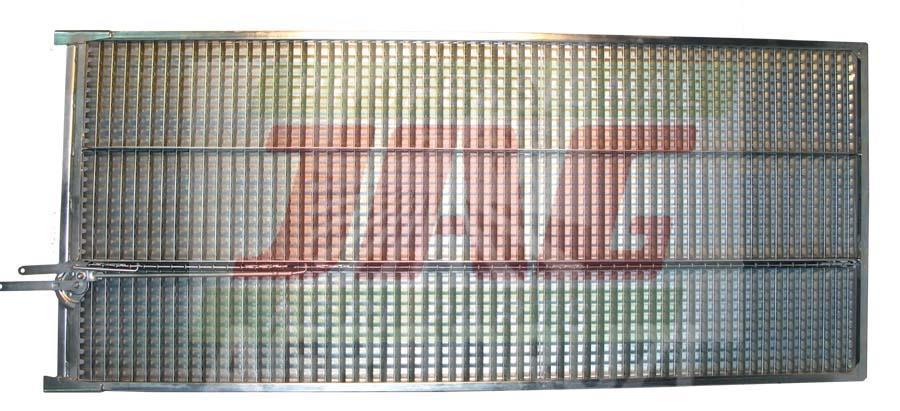 Сито жалюзійне верхнє оцинковане 760x1739mm Claas 600118 600118