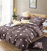 Двуспальный комплект постельного белья евро 200*220 сатин (13451) TM КРИСПОЛ Украина