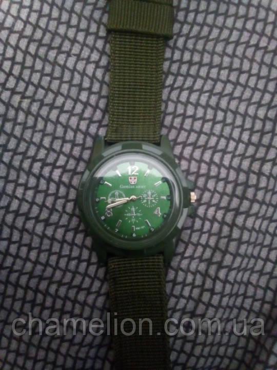 Часы наручные цвета хаки
