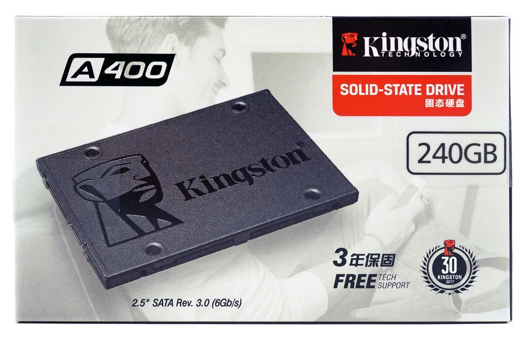 """240Gb SSD-диск Kingston накопичувальний 2.5"""" SA400S37/240G A400 твердотільний (жорсткий) 240 ГБ"""