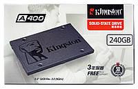 """240Gb SSD диск Kingston накопительный 2.5"""" SA400S37/240G A400 твердотельный (жесткий) 240 ГБ"""