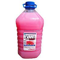CLOVIN Kwiatowe Handy рідке мило з гліцеріном 5000 мл, Жидкое мыло для рук CLOVIN антибактериальное
