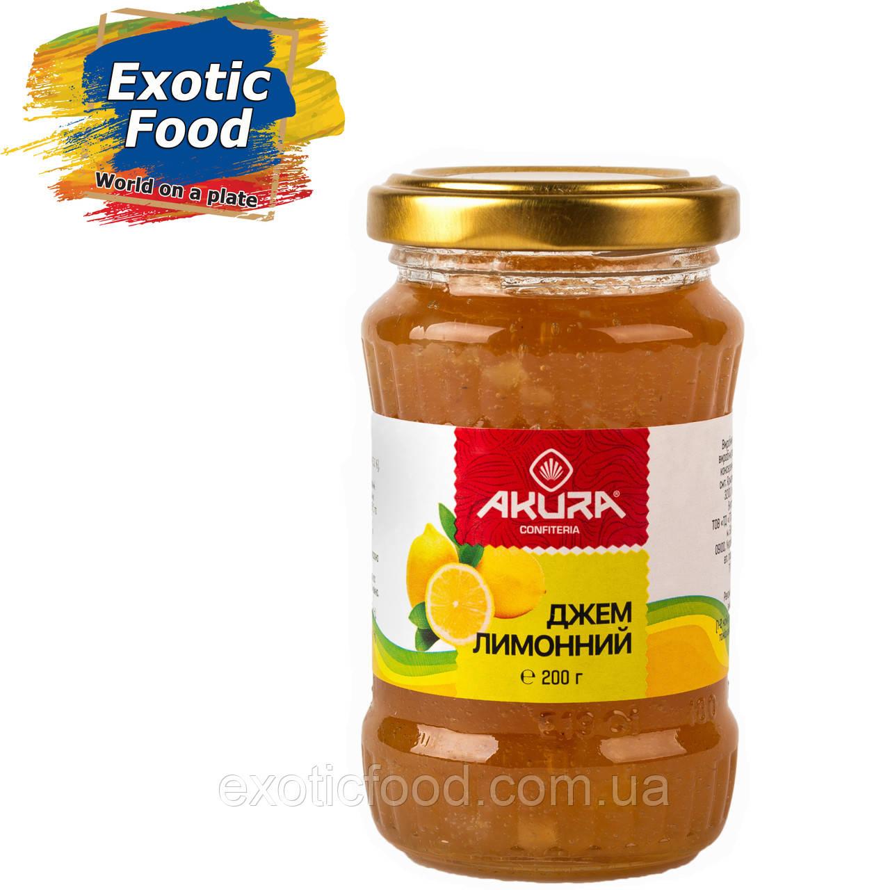 """Джем лимонный ТМ """"AKURA"""", 200 г"""