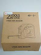 Лазерный дальномер (рулетка) 2-в-1 5м/40м LT40A Protester