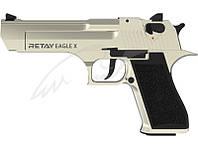Пистолет стартовый Retay Eagle X, 9мм. цвет satin
