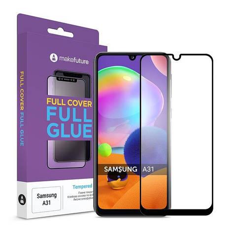 Защитное стекло MakeFuture для Samsung Galaxy A31 M-A315 Full Cover Full Glue, 0.25 mm (MGF-SA31), фото 2