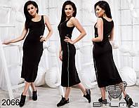Стильное платье с молниями - 20660