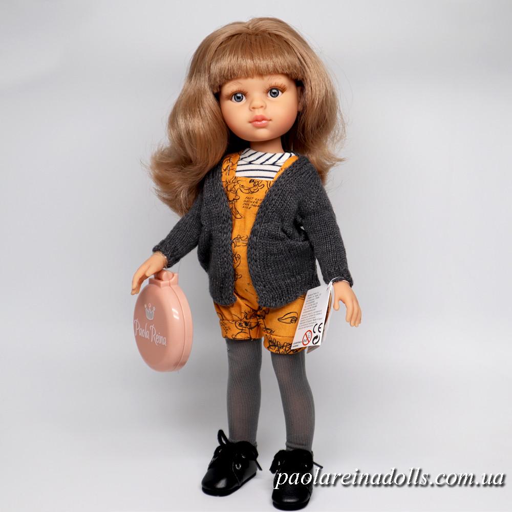 Кукла Паола Рейна Карла модница в комбинезоне Paola Reina