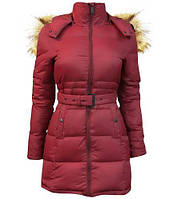 Жіночий пуховик Top Gun Nylon Insulated Down Jacket TGJ1555 (Burgundy), фото 1