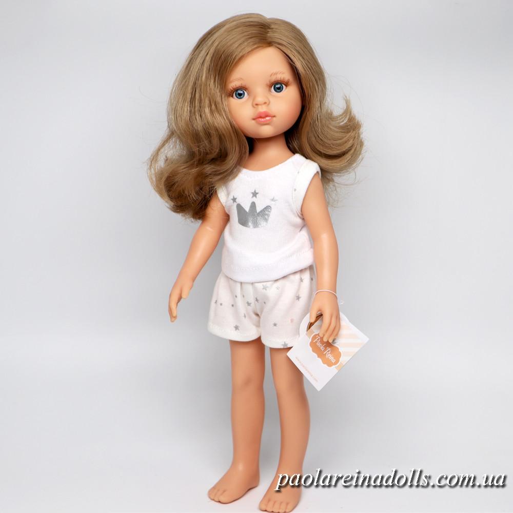 Кукла Паола Рейна Карла с синими глазками в пижаме