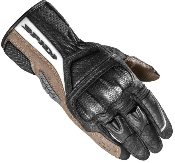 Мотоперчатки летние кожаные Spidi TX Pro черные, XXL