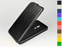 Откидной чехол из натуральной кожи для Meizu M8 Note / Note 8
