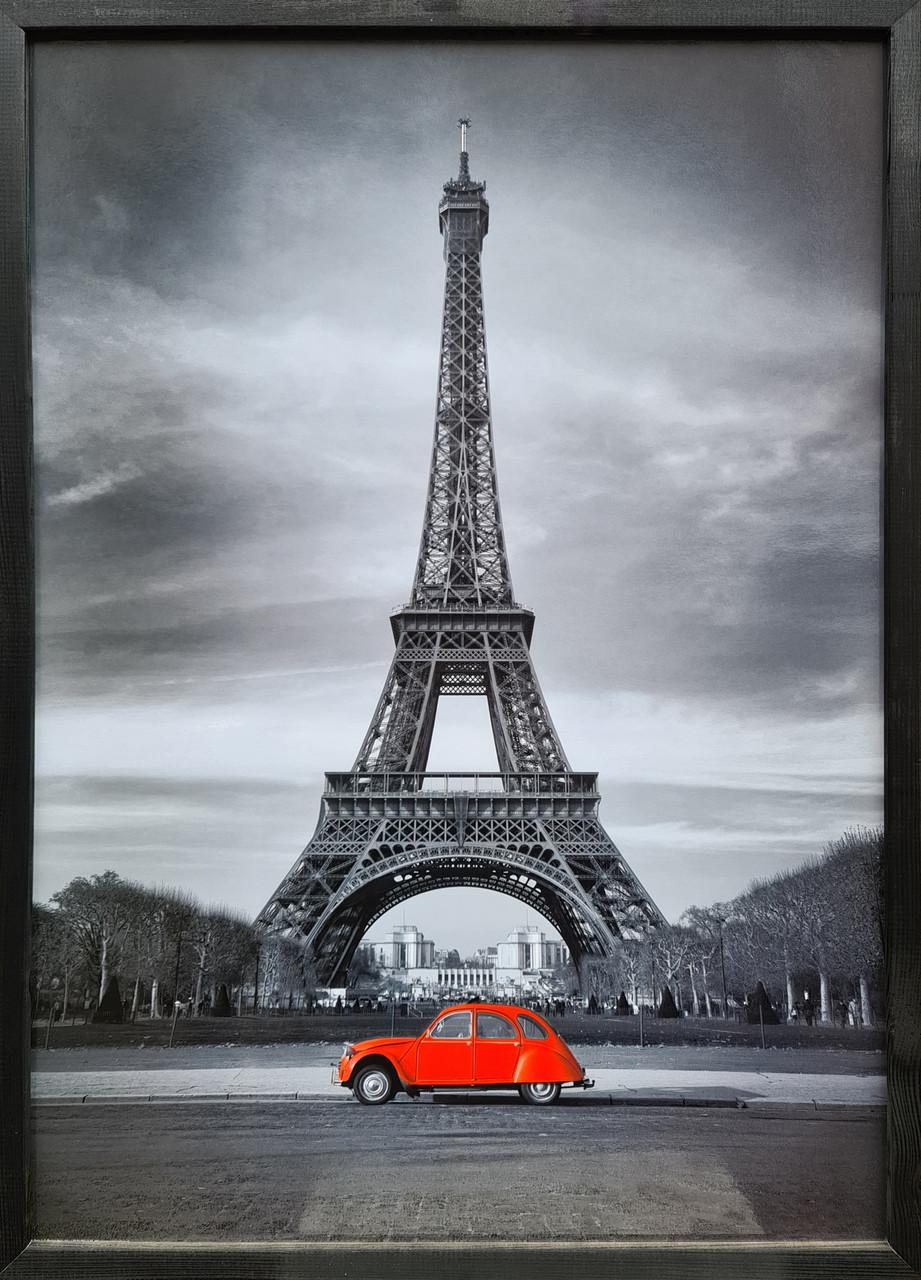 """Фотокартина в деревянной раме """"Paris 4"""", 50х70 см"""