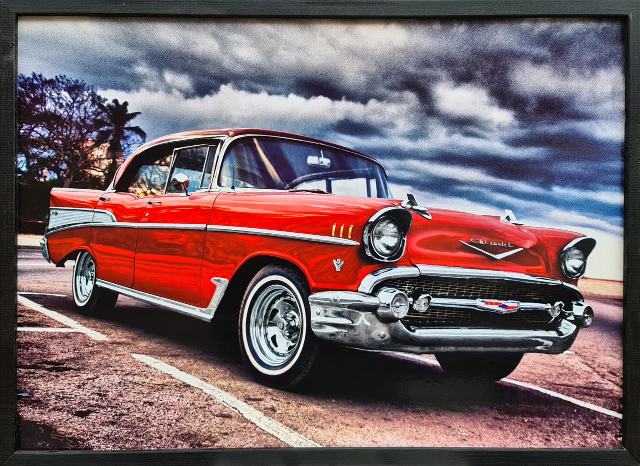 "Фотокартина в деревянной раме ""Car 15"", 50х70 см"