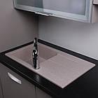Мойка кухонная Fancy Marble Tennessee 770х430х170, фото 5