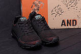 Мужские летние кроссовки сетка BS RUNNING SYSTEM Black, фото 8