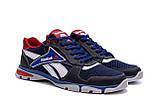 Чоловічі кросівки літні сітка Reebok Street Style Blue (;), фото 3