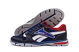 Чоловічі кросівки літні сітка Reebok Street Style Blue (;), фото 5