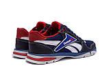 Чоловічі кросівки літні сітка Reebok Street Style Blue (;), фото 6