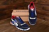 Чоловічі кросівки літні сітка Reebok Street Style Blue (;), фото 7