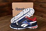 Чоловічі кросівки літні сітка Reebok Street Style Blue (;), фото 8