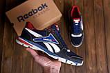 Чоловічі кросівки літні сітка Reebok Street Style Blue (;), фото 9