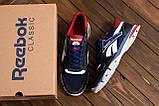 Чоловічі кросівки літні сітка Reebok Street Style Blue (;), фото 10