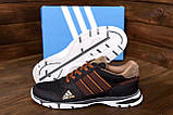 Чоловічі кросівки літні сітка Adidas Tech Flex Brown (;), фото 8