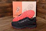 Чоловічі кросівки літні сітка BS RUNNING SYSTEM Black, фото 8