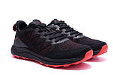Чоловічі кросівки літні сітка BS RUNNING SYSTEM Black, фото 3