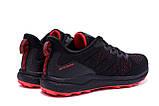 Чоловічі кросівки літні сітка BS RUNNING SYSTEM Black, фото 6