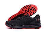 Чоловічі кросівки літні сітка BS RUNNING SYSTEM Black, фото 5