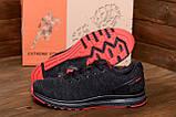 Чоловічі кросівки літні сітка BS RUNNING SYSTEM Black, фото 7