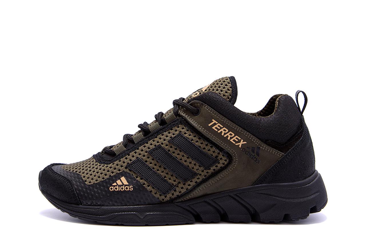 Мужские летние кроссовки сетка Adidas Terrex  (;)
